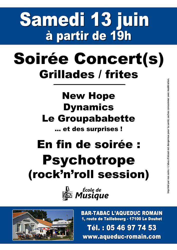 Soirée Concerts